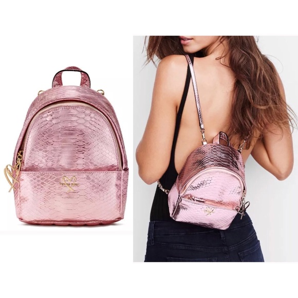 a0c165c6d0 💢Limited Edition💢Vs Luxe Pink Python Backpack
